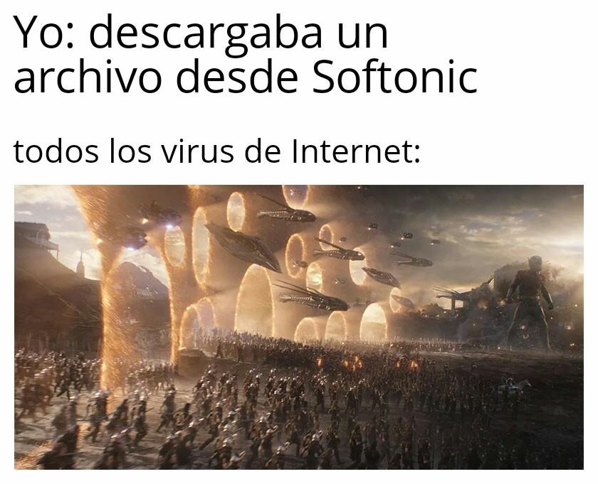 Softonic - meme