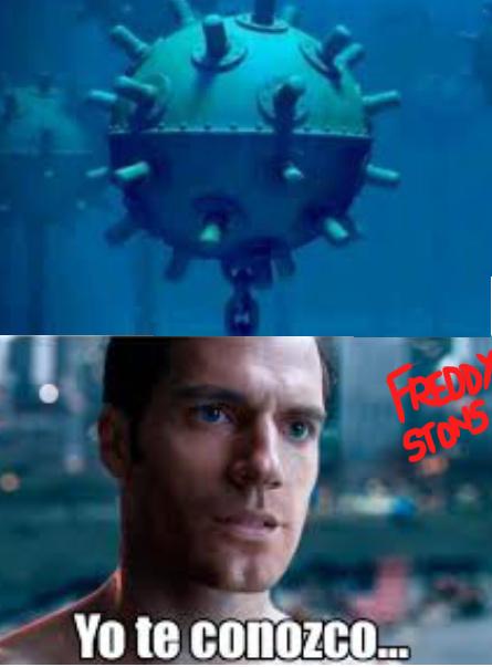 algunos entenderan sisisi de seguro la mina explosiva de mar no tiene gran similitud con el covd-19 minavirus - meme