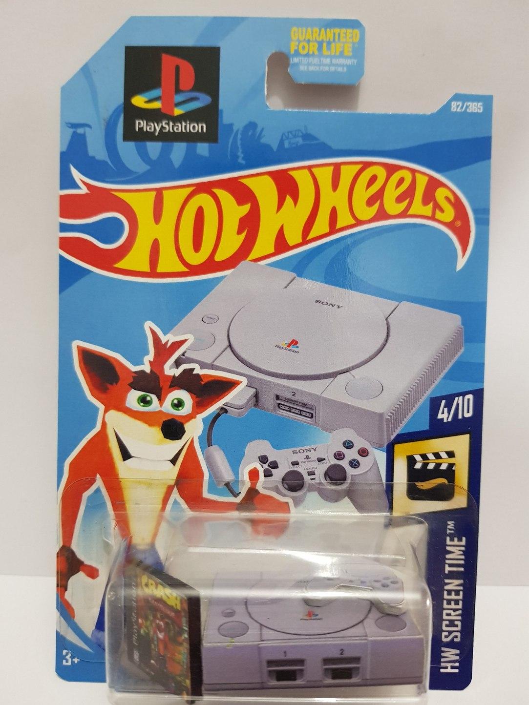 PlayStation hotwheels - meme
