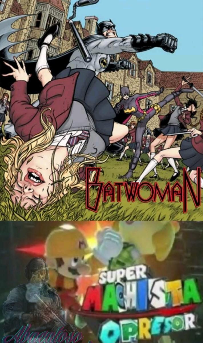 Batman machista. - meme