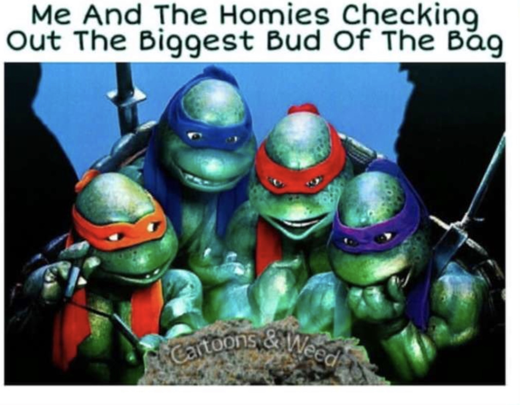 who smokes with the boys - meme