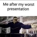 Presentation gone wrong
