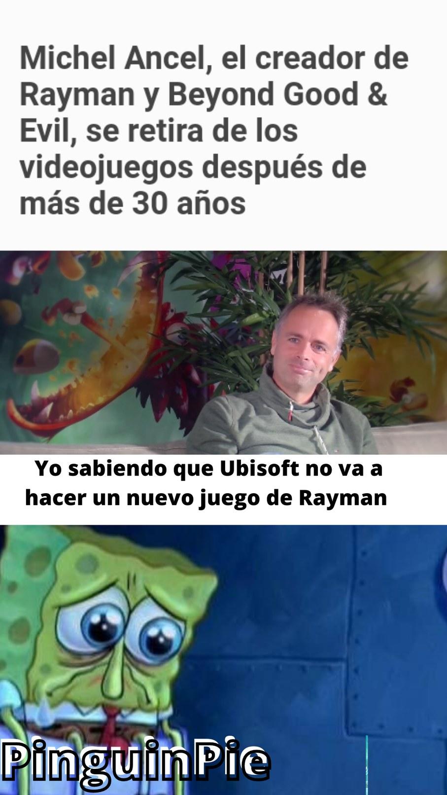 Podrá ser este el fin de Rayman? - meme