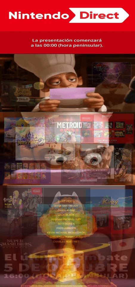 Nintendo Direct 23-09-2021 - meme