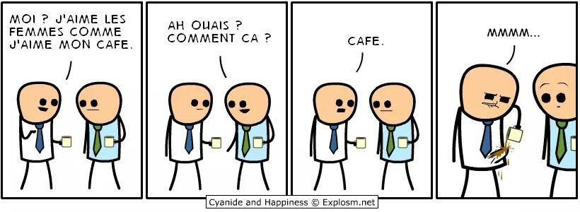 Le café me rend toute chose... - meme