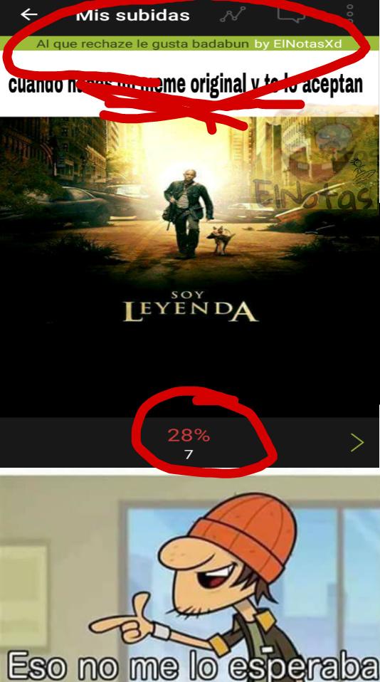 Ahora mismo esta a 22% (9) - meme