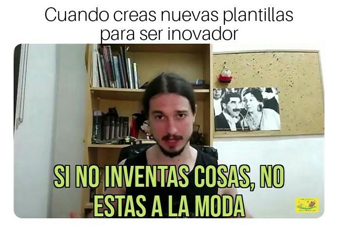 Hay que inovar - meme