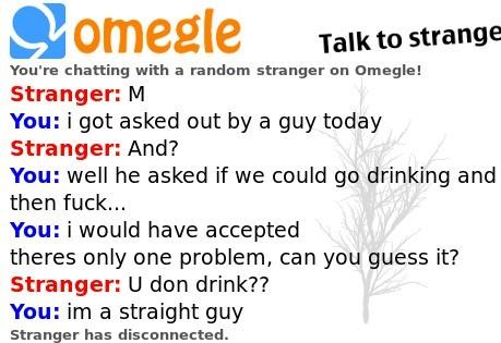 Omegle is full of horny guys - meme