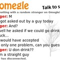 Omegle is full of horny guys