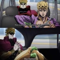 giorno and dio go to McDonald's