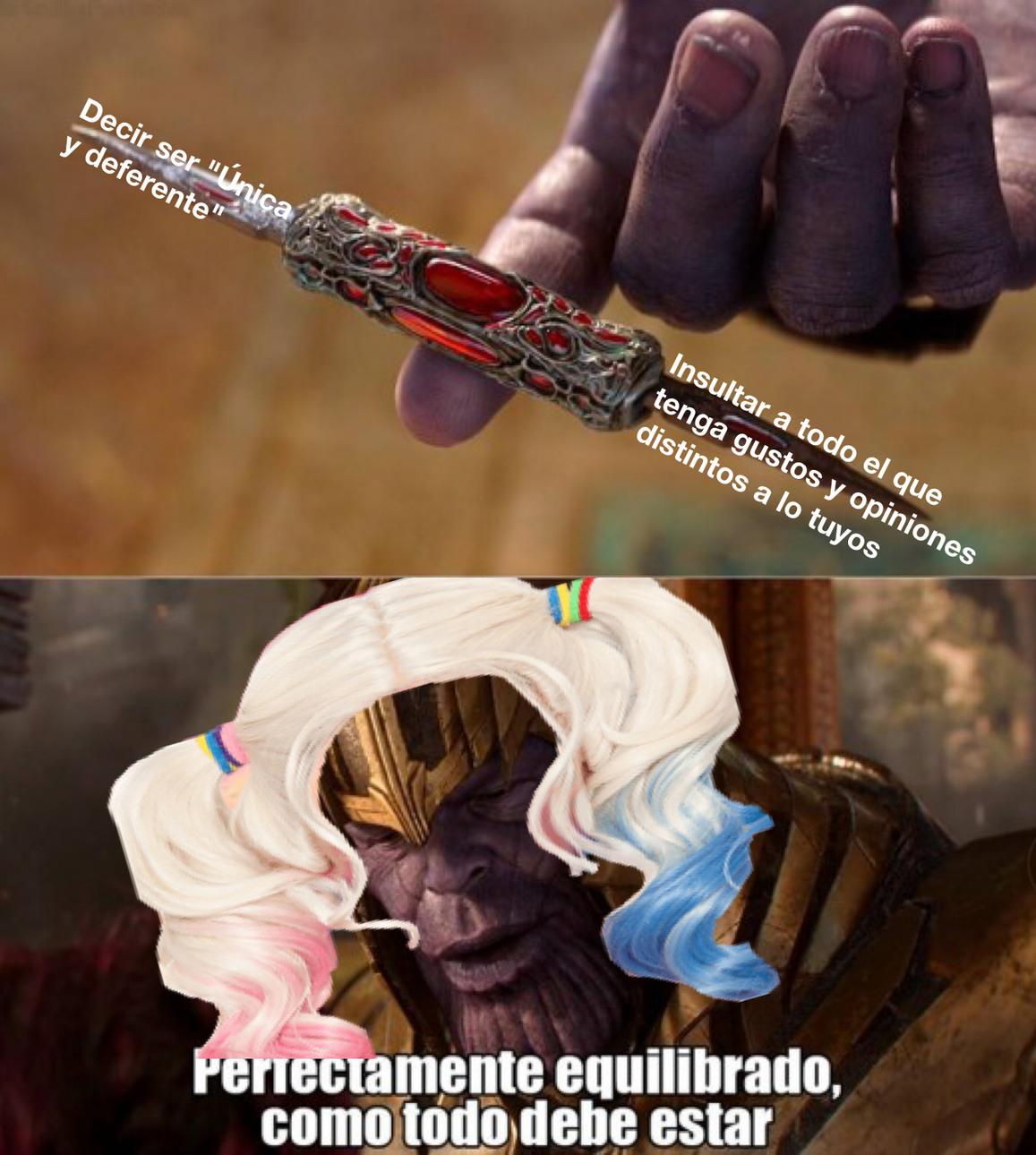 Equilibrio - meme