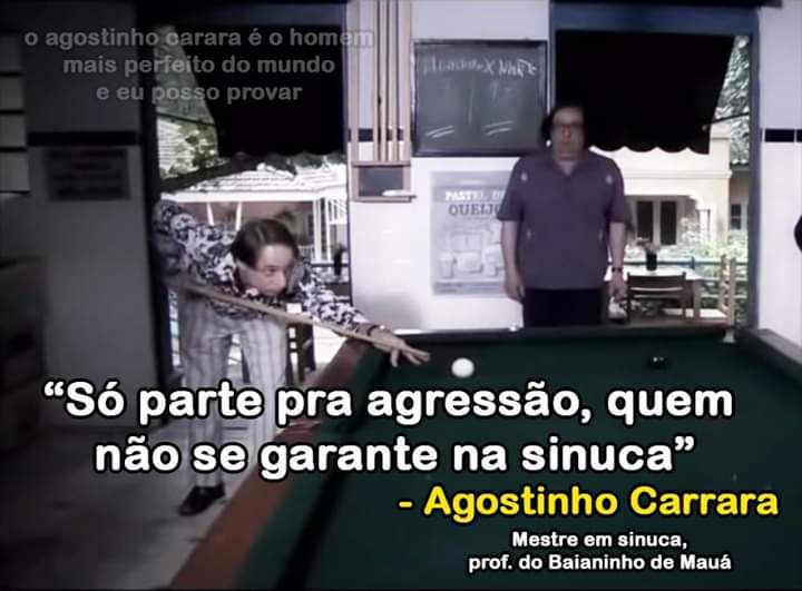 Agostinho Carrara - meme