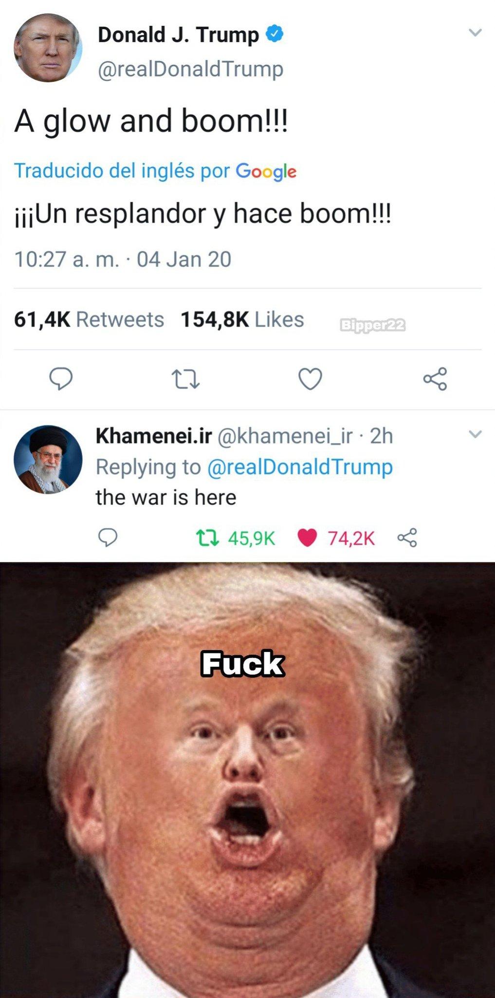 Y hace boom - meme