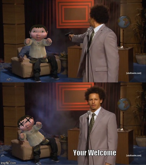 Kill Ice age baby - meme