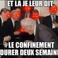 Macron, les ministres et les députés like: