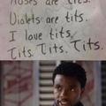 I love TITS
