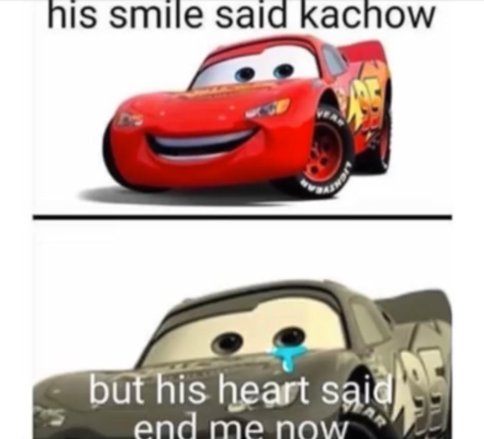 Kachow - meme