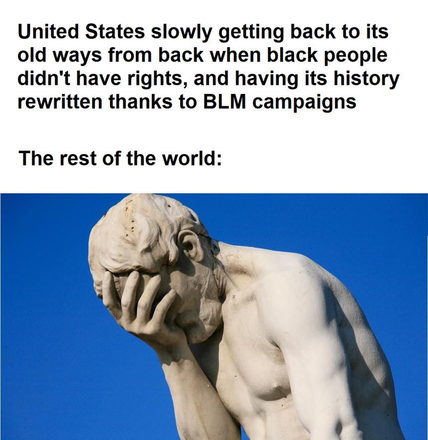 Ay Estados Unidos...date cuenta - meme
