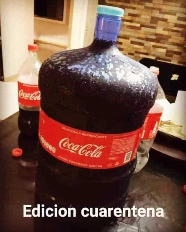 Coca cola espuma - meme