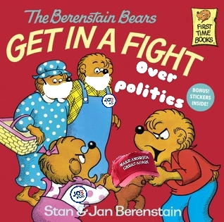 Even the Bernstein bears are fighting each other this election year. - meme
