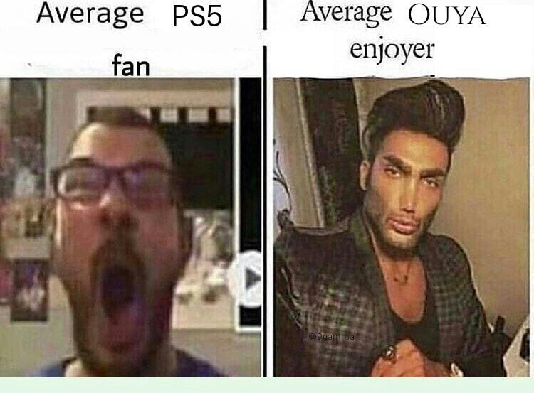 Ouya is for alpha males - meme