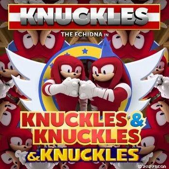 Titulo & Knuckles - meme