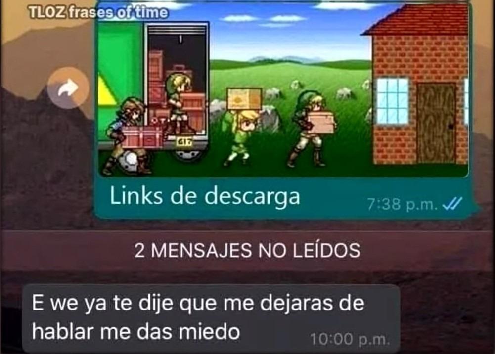 Links de descarga XD - meme