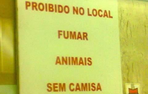 Onde eu vou fumar meus animais agora? #PortuguêsCorréto - meme