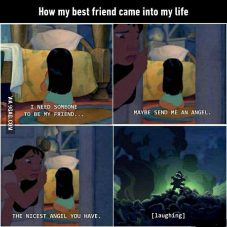 I'm that friend, who's with me? - meme