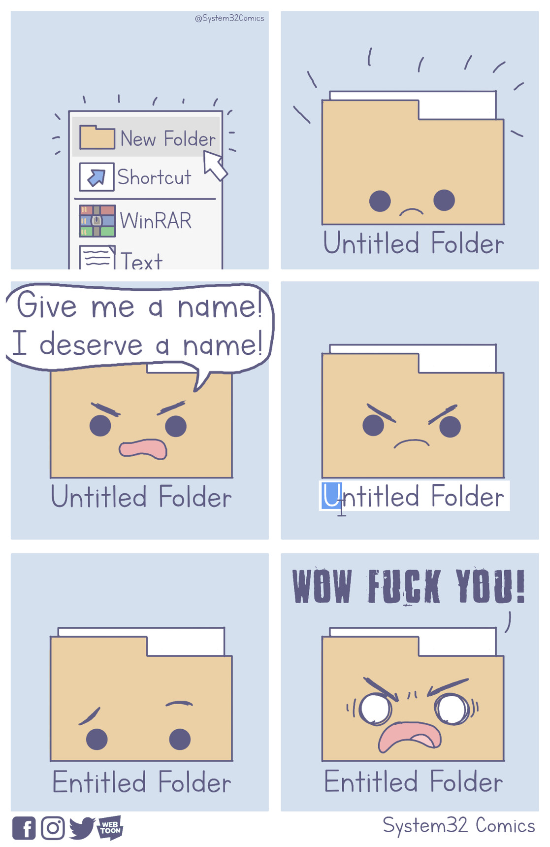 New Folder [OC] - meme