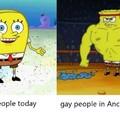 O first é gay