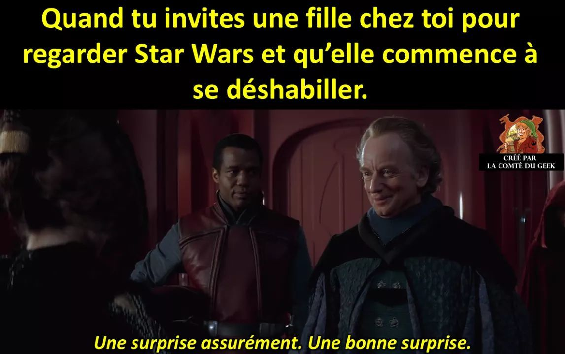 Mais c'est Chewbacca - meme