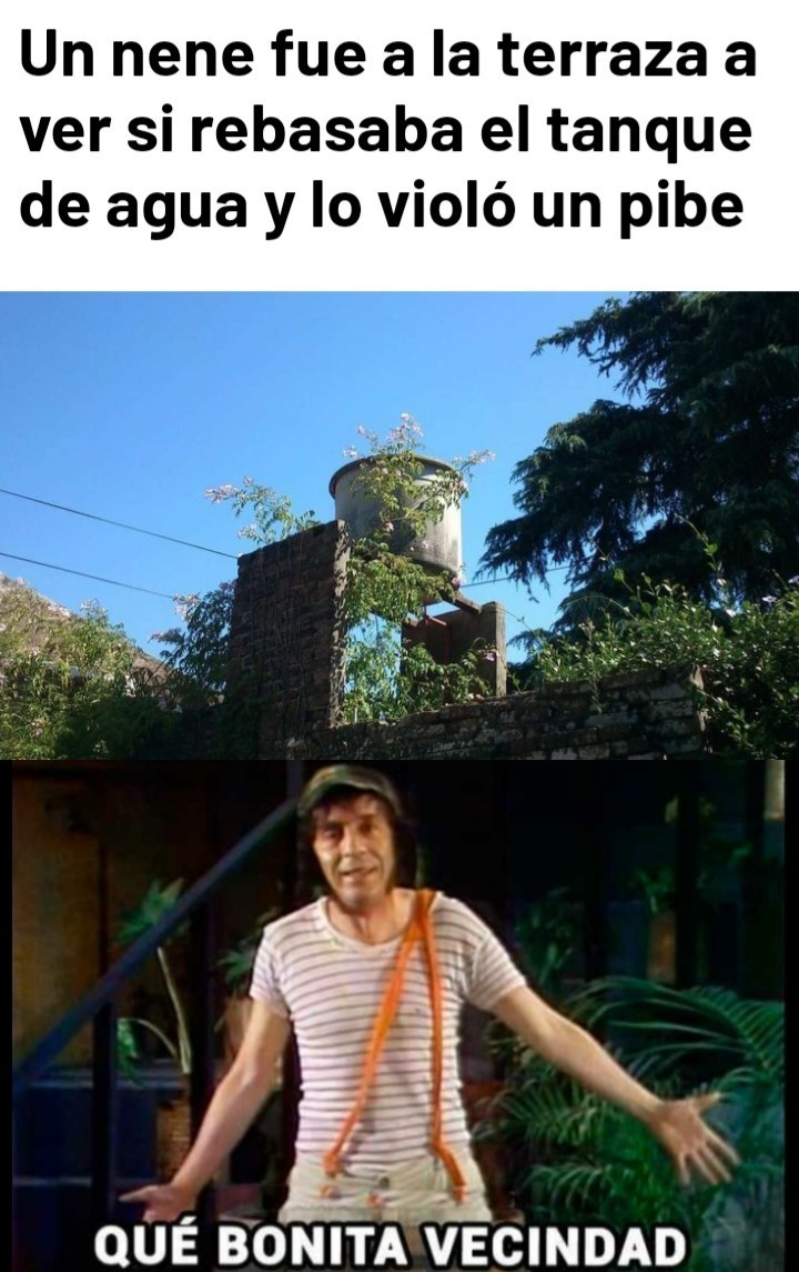 Gran vecindad - meme