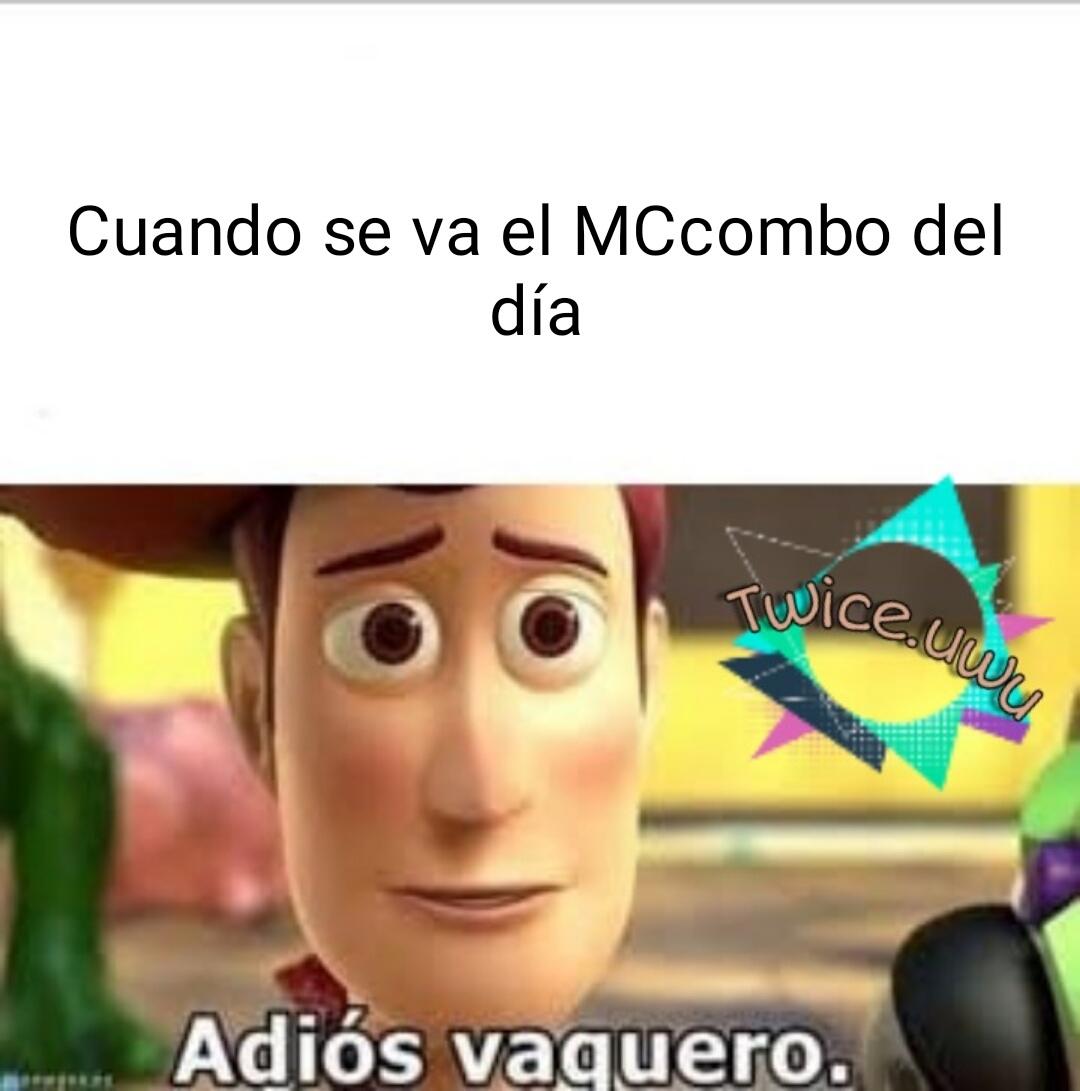 El título se fue por su MCcombo - meme