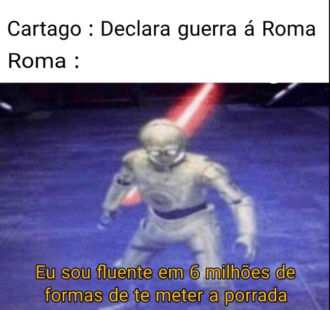 Contexto : Guerras Punicas - meme