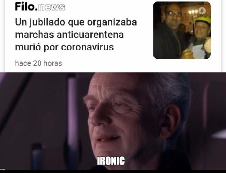ironico no! - meme