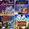 The real names of Disney movies