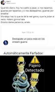 Pajer0 Detectado - meme