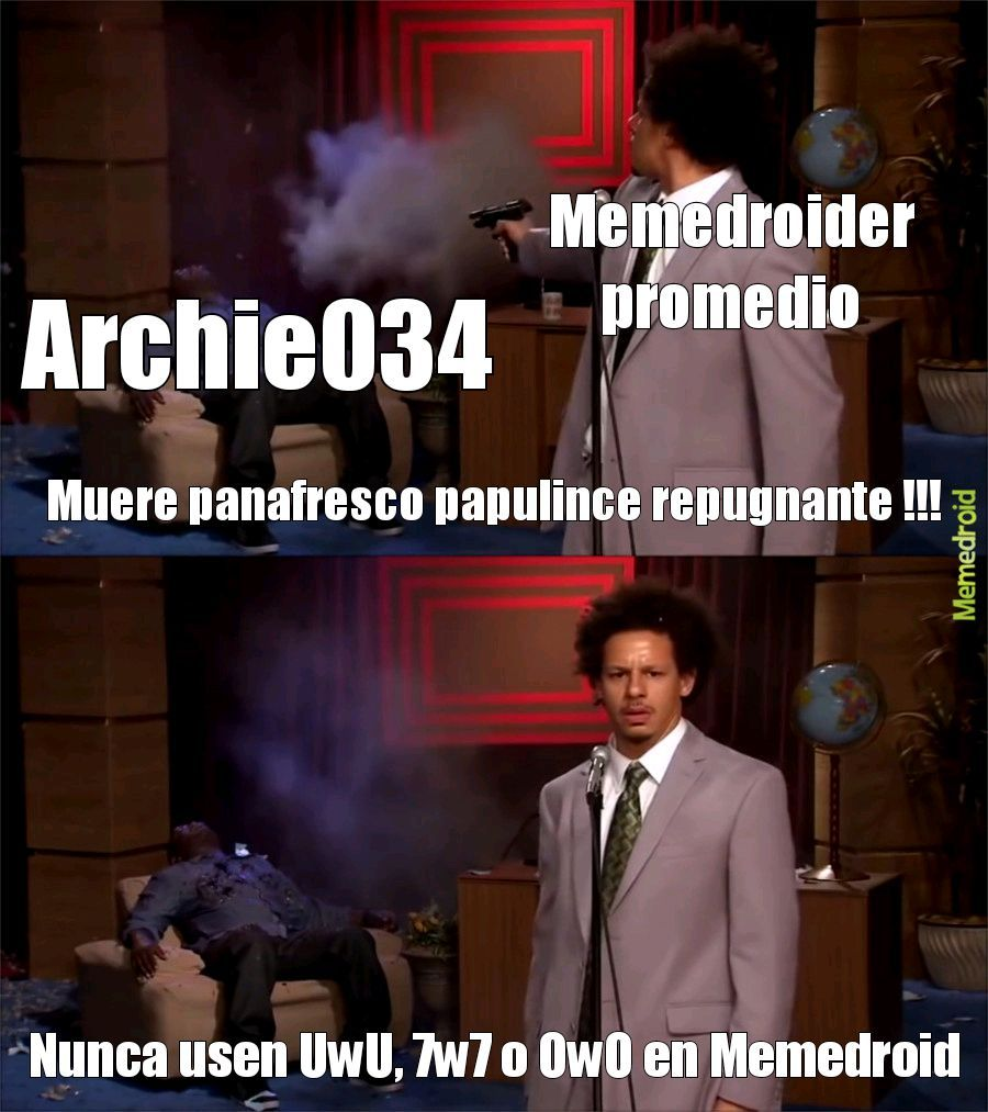 Muérete Archie - meme