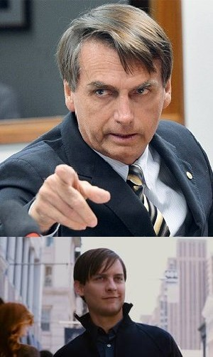 BolsoAranha - meme