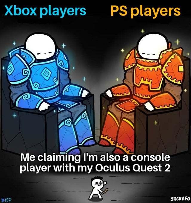 Oculus quest gang :/ - meme