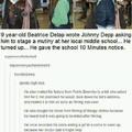Good guy Johnny Depp