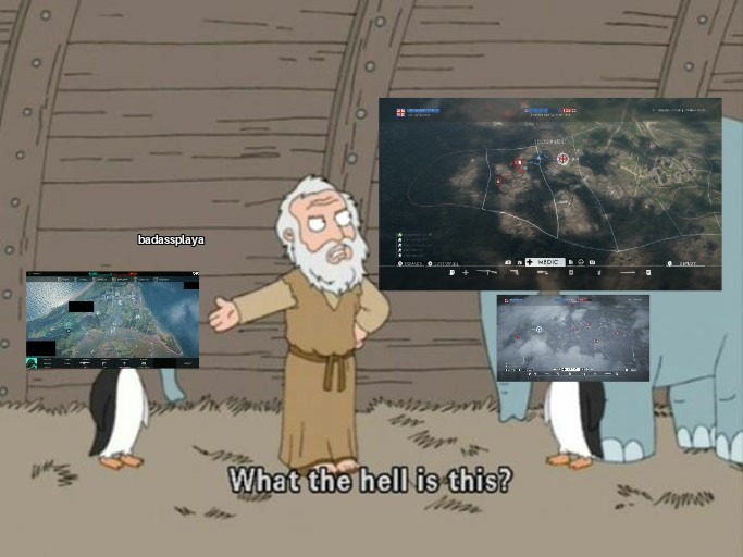 Breakthrough+Conquest=All Out Warfare - meme