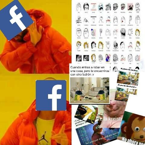 Las redes sociales en estos momentos :v - meme
