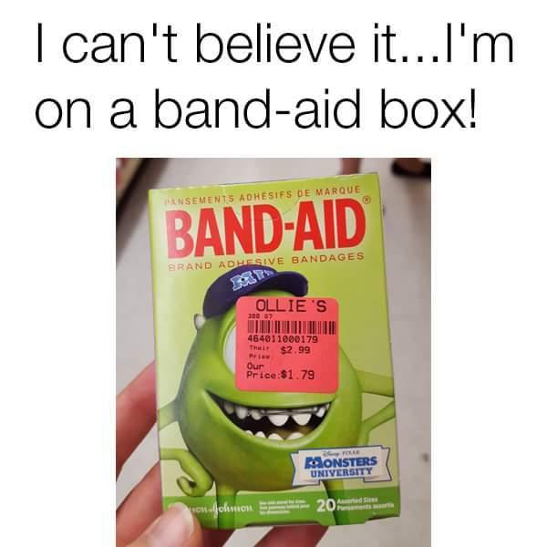 Band aid - meme