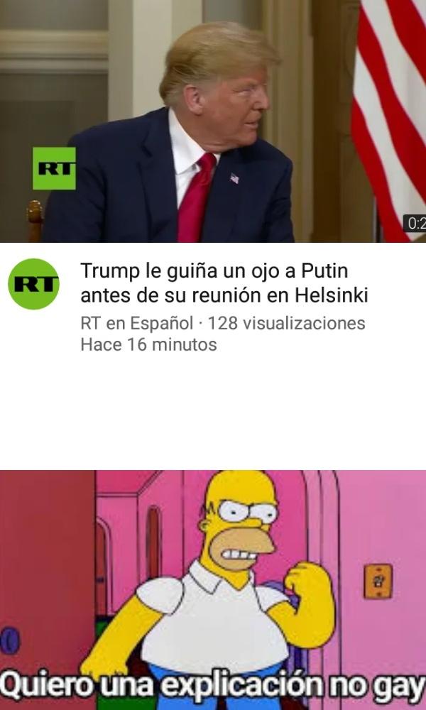 Políticos geis alv - meme