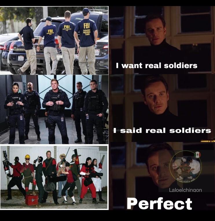 esos son soldados de elite - meme