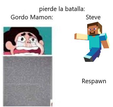La venganza del Gordo Mamon - meme