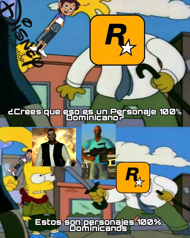 Rockstar Games es la Mera Verga - meme