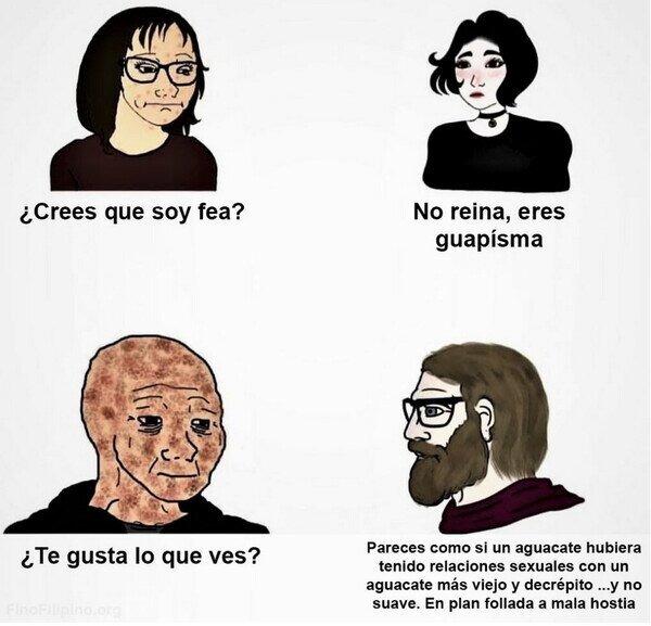 Chicos vs chicas - meme